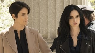 Jessica Jones: Carrie-Anne Moss Interview - NYCC 2015