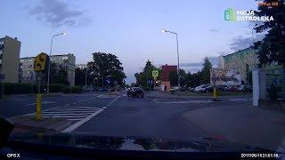 Bandyta drogowy na ulicach Ostrołęki