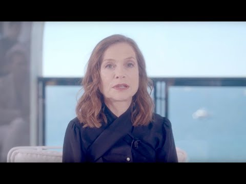 Isabelle Huppert Women in Motion at Cannes Film Festival in French