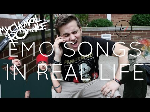 EMO SONGS IN REAL LIFE!!!