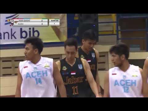 Bola Basket (Putra) PON JABAR 2016 - Jawa Barat vs Aceh