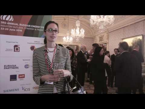 Iva Brkic, Douglas-Westwood, Russian Energy Forum 2016, London
