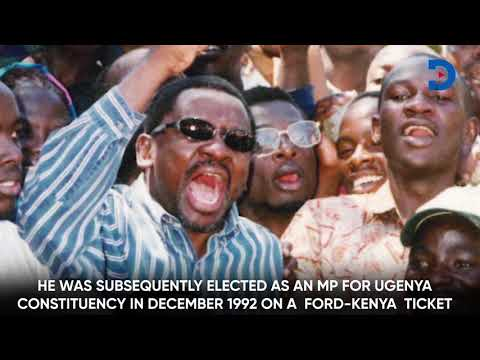 Looking back at Senator James Orengo's journey |REWIND