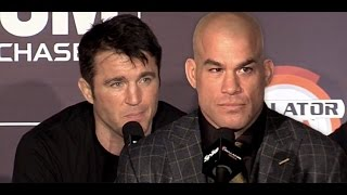 Uncomfortable Moment as Tito Ortiz and Chael Sonnen Bad Blood Remains