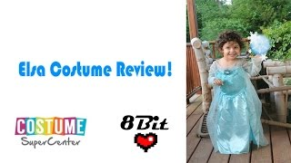 Disney's Frozen Elza Costume Review and Unboxing!