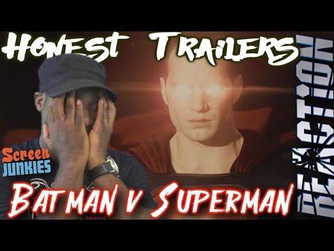 Honest Trailers - Batman v Superman: Dawn of Justice REACTION!