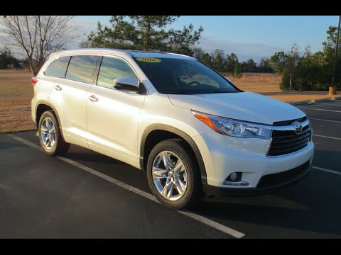 2016 Toyota Highlander Limited Platinum V6 Full Tour Start Up At Mey You