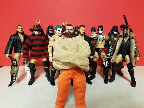 WWE CUSTOM FINN BALOR HANNIBAL FIGURE + MORE! HALLOWEEN SPECIAL
