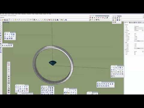 Моделирование ювелирки в Rhino: Кольцо 1