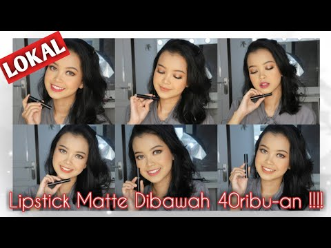 lipstick-matte-lokal-dibawah-rp.40rb-|-swatches-&-review-|-primadita-r