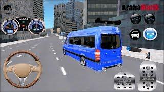 Direksiyonlu Minibüs Şoförü Oyunu // Çocuklar için Araba oyunları #2