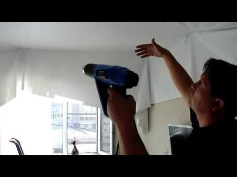 видео: Потолок- Атлас ( Сделай сам ) Комната , скрытый карниз.