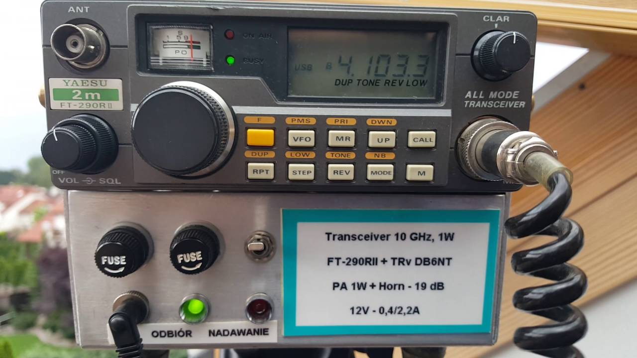 10GHz QSO with SP7JSG via Rain-Scatter
