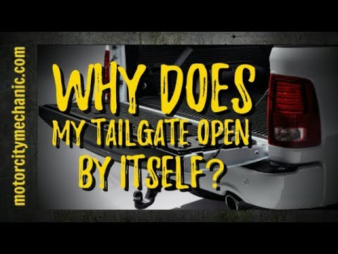 Why Does My Tailgate Open By Itself 2017 Ram Trucks