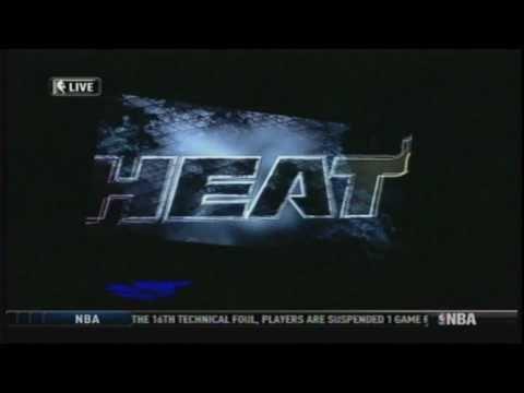 ** First Ever Player Intro ** MIAMI HEAT 2010 - 2011 (LeBron James, Dwyane Wade, Chris Bosh)