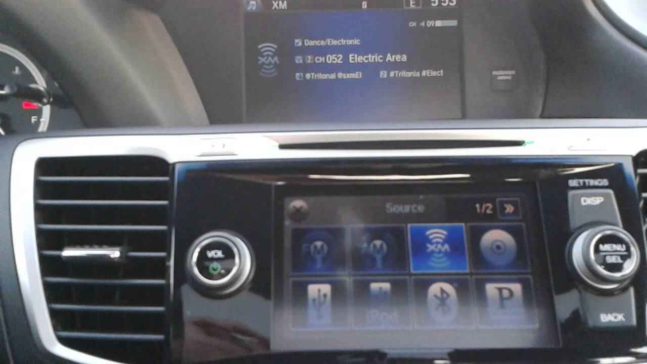 New Honda Accord >> 2013 Honda Accord EX-L V6 - CD Player Issue - YouTube