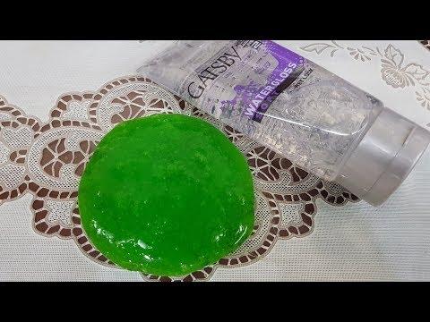 Hair gel slime,DIY hair gel Slime