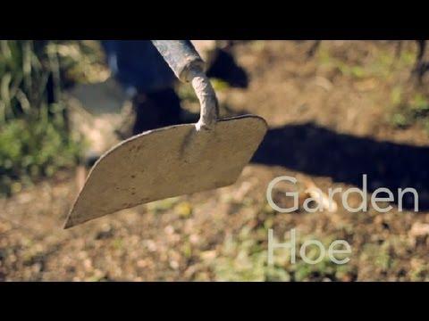 How To Use A Garden Hoe Garden Tool Guides Youtube