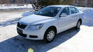 2013 Skoda Octavia. Start Up, Engine, And In Depth Tour.