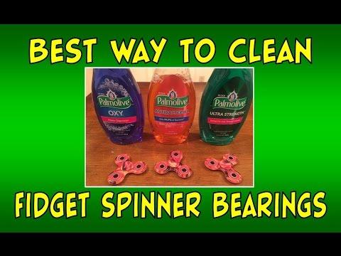 How to Clean Fidget Spinner Bearings   Easiest Tutorial   Giveaway Updates