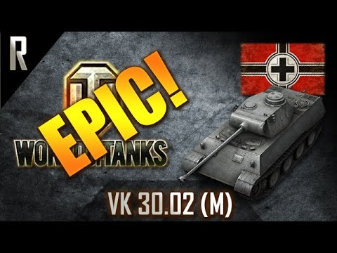 ► World of Tanks - Epic Games: VK30.02 (M) [12 kills, 3286 dmg]