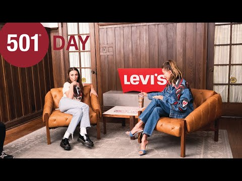 Levi's 501 Day   Coffee Talk with Emma Chamberlain and Hailey Bieber