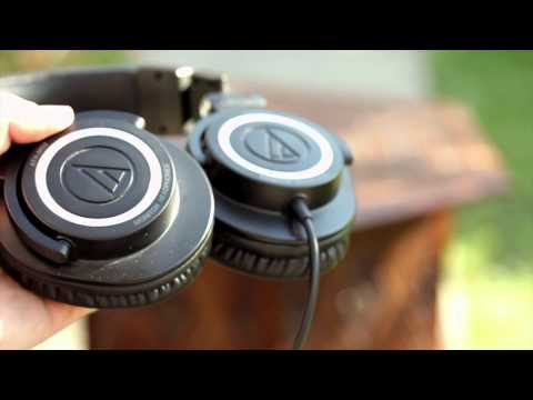 Travel Tech! Audio Technica ATH-M50 Review