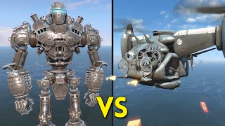Fallout 4 - LIBERTY PRIME vs 25 VERTIBIRDS - Battles 40