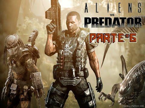 ALIENS VS PREDATOR - CAMPANHA MARINE - PARTE #6