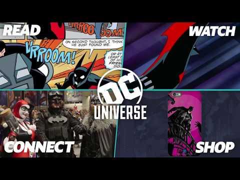 Read & Watch Batman Beyond | DC Universe | The Ultimate Membership