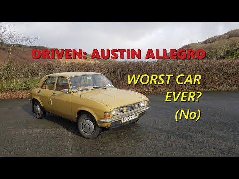 Driven: 1975 Austin Allegro 1100 Deluxe 'Worst Car' Naaaaah!