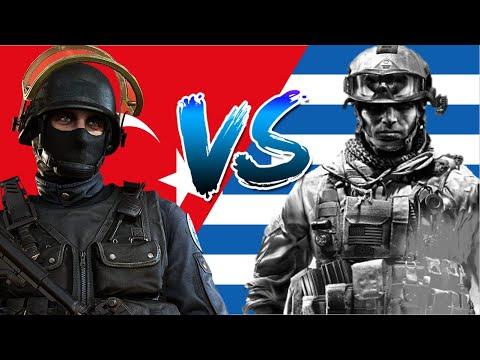 Турция VS Греция/Сравнение Армии и вооруженных сил стран- 2020