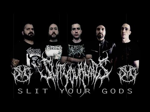 SLIT YOUR GODS - CULT OF SUPREME BLASPHEMY [OFFICIAL LYRIC VIDEO] (2020) SW EXCLUSIVE  