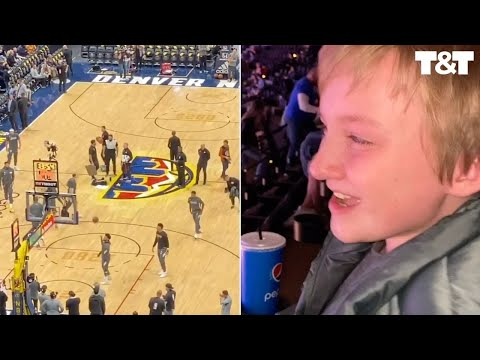 Tony Sandoval on The Breeze - Young Boy Bursts into Tears When He Sees His Basketball Hero in Person