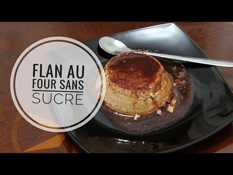"""délicieux-flan-au-four-au-caramel-""""sans-sucre"""""""