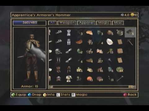 "Morrowind - my first playthrough's ""standard patrol"""