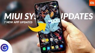 MIUI 11 System Updates   7 Top MIUI 11 App Updates With New Animation & Features ⚡⚡