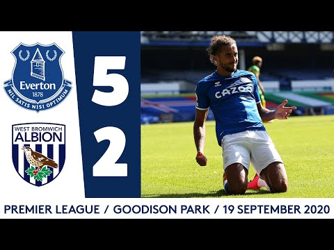 Everton West Brom Goals And Highlights