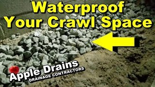 How to Waterproof Your Crawl Space, DIY Complete