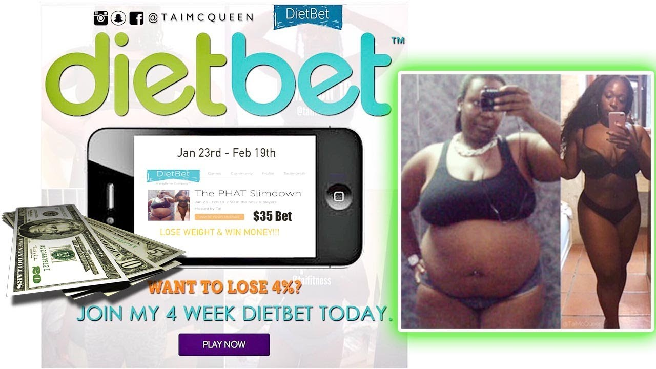 DIETBET: Lose Weight And Win Money!! »