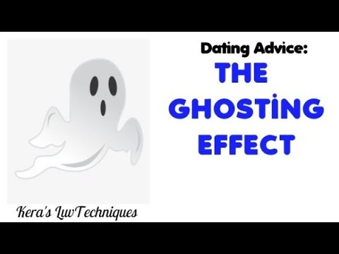 ghosting someone your dating