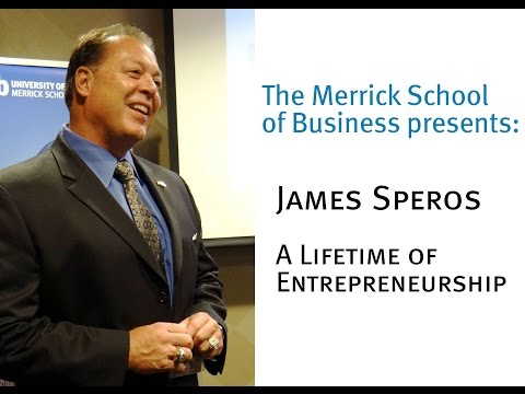Merrick Engages: James Speros, A Lifetime of Entrepreneurship