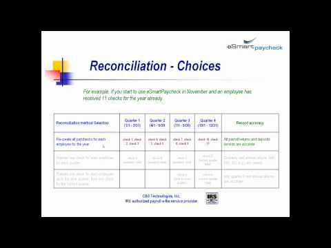 payroll records reconciliation.mp4