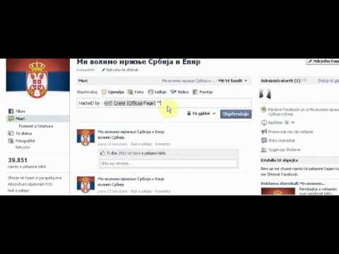 SERBIAN PAGE(ON FACEBOOK *OFFICIAL*) HACKED BY KOSOVA HACKER'S TEAM [KHT]