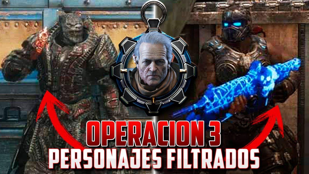 GEARS 5 | OPERACIÓN 3 | TODOS LOS PERSONAJES *FILTRADOS* thumbnail