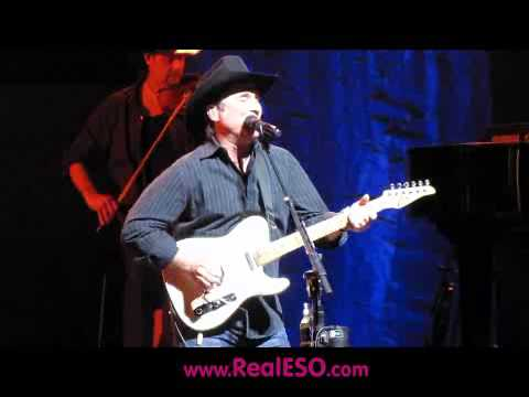 Clint Black performing 'A Good Run of Bad Luck' at the Chicago Country Music Festival