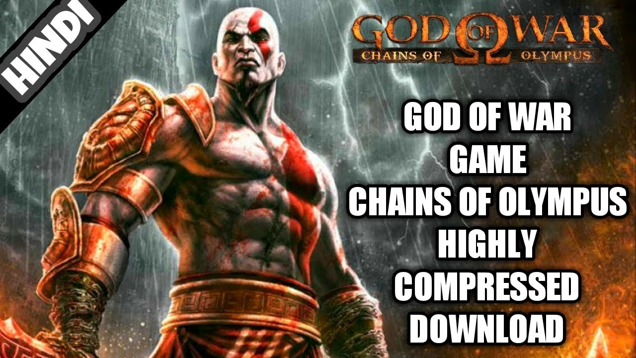God of War Game Highly Compressed Download Only 85 MB