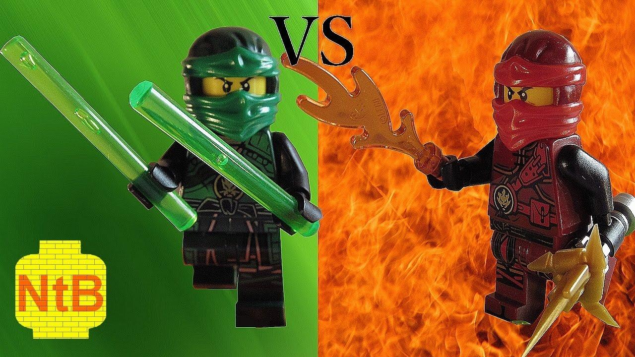 Lego ninjago kai vs lloyd youtube - Ninjago lloyd and kai ...