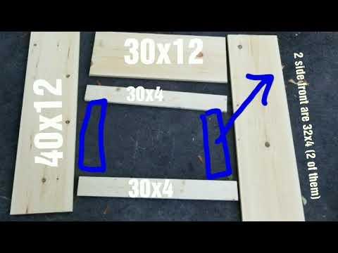 Diy radiator cover. How to build a radiator cover.