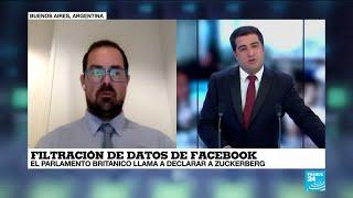 Daniel Monastersky explica la dimensión de la supuesta filtración de datos en Facebook